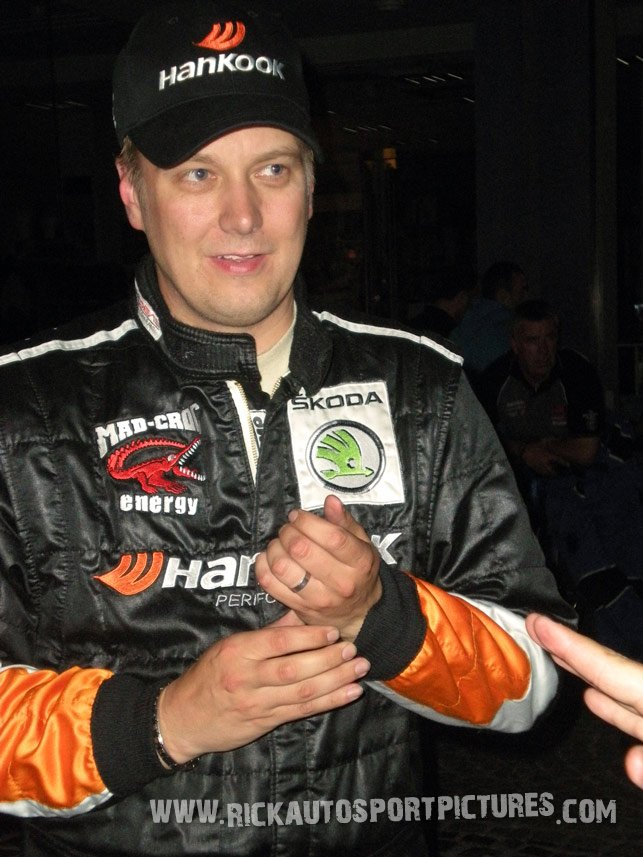 Toni Gardemeister Ypres Ieper Rally 2011
