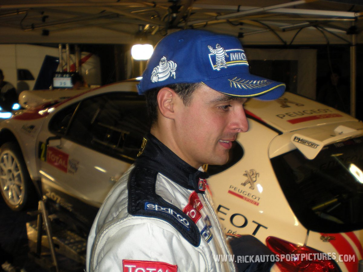 Bryan Bouffier Ypres Ieper Rally 2010