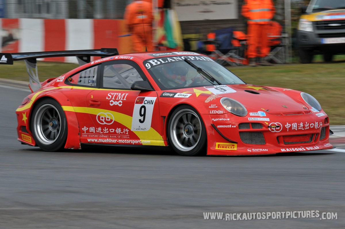 Matt Halliday Zolder 2012