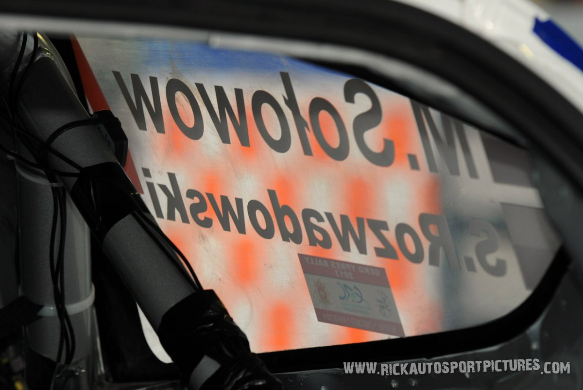 Michal Solowow Ypres ieper rally 2013