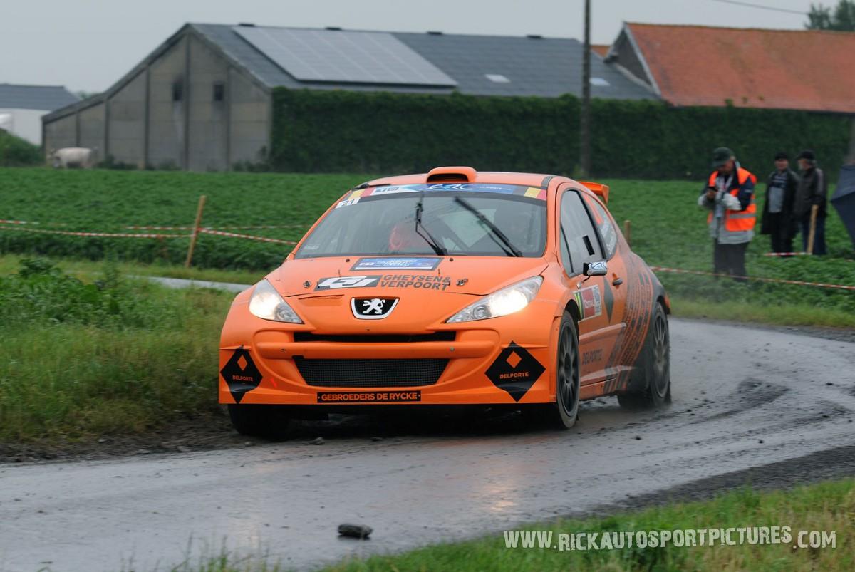Davy Vanneste ypres ieper rally 2013