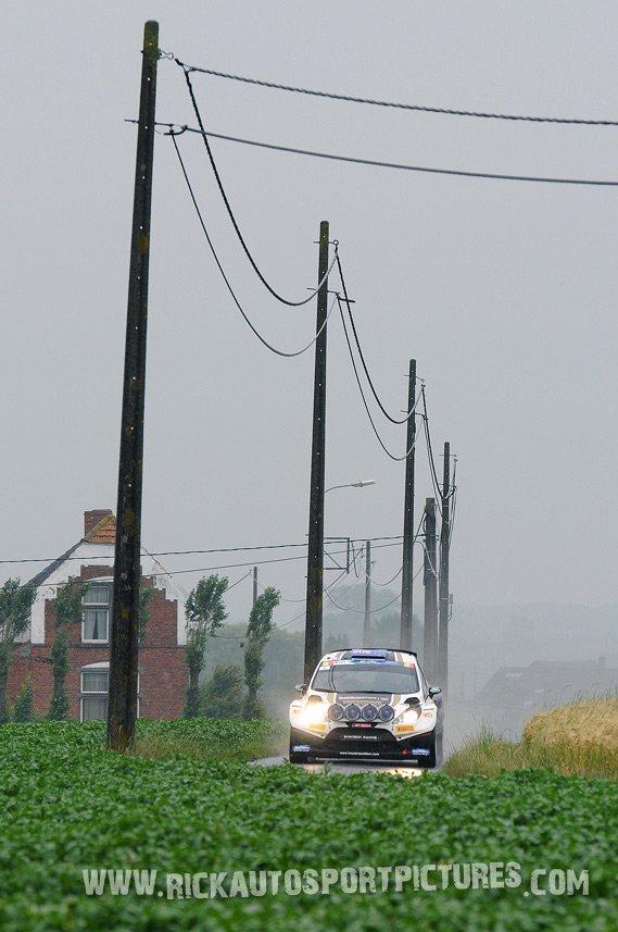 Hayden Paddon ypres ieper rally 2013