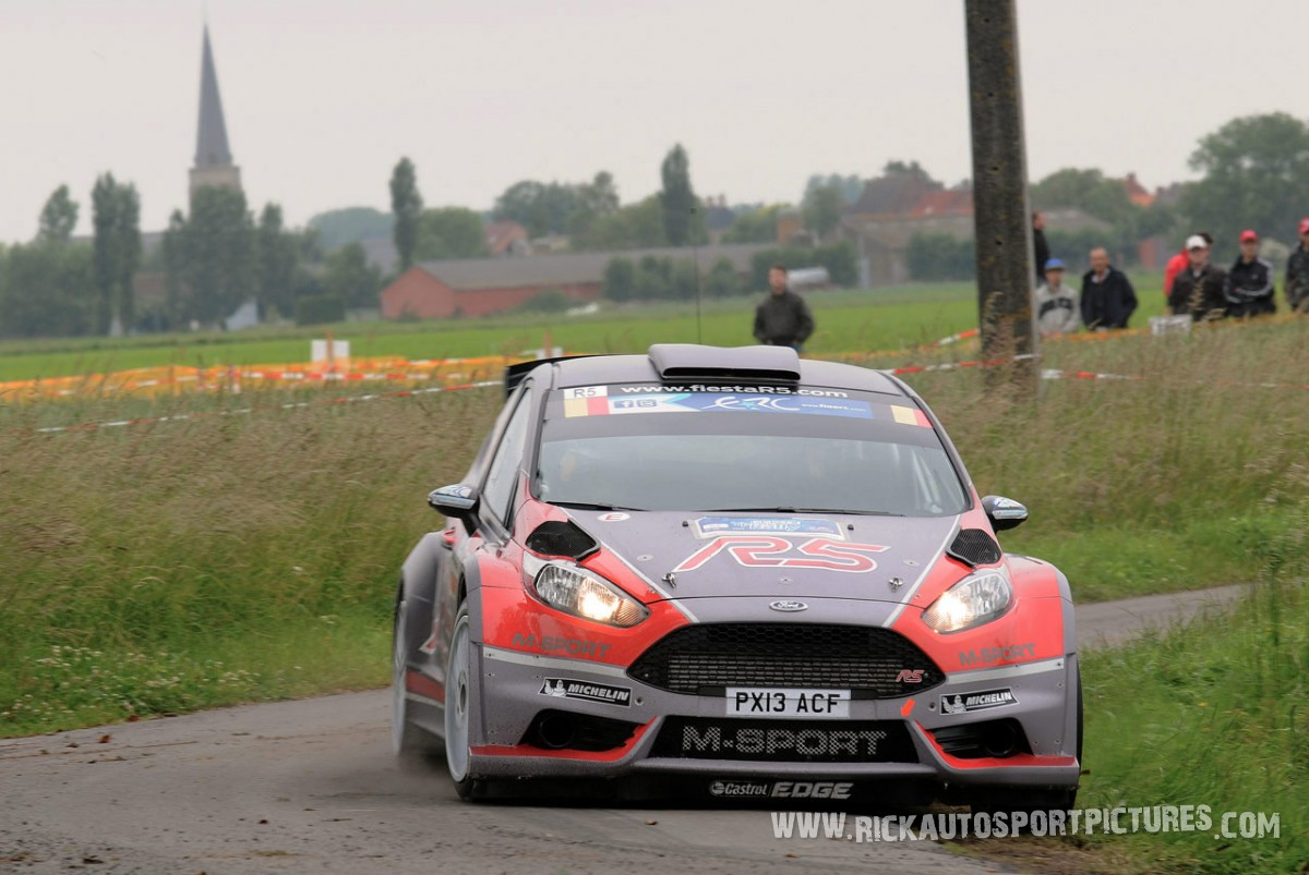 Thierry Neuville Ypres Ieper Rally 2013