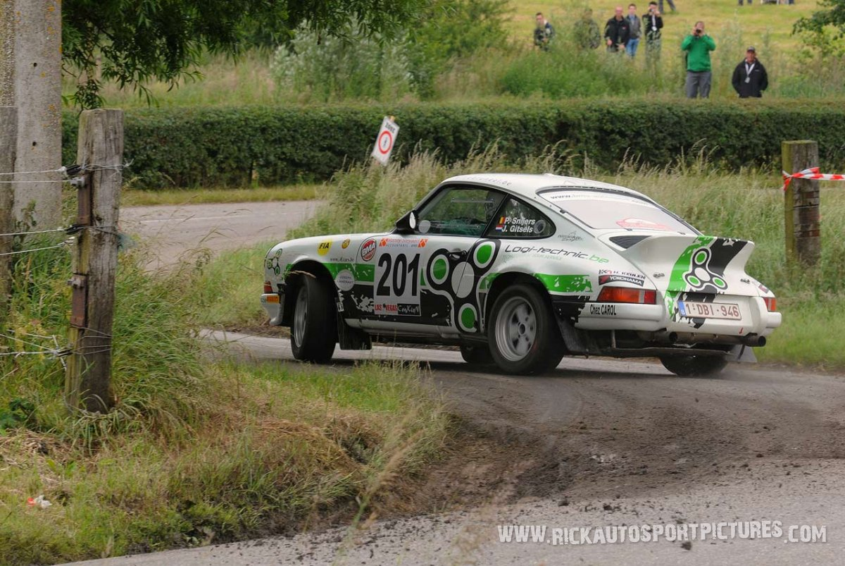 Patrick Snijers Ypres Ieper Rally 2013
