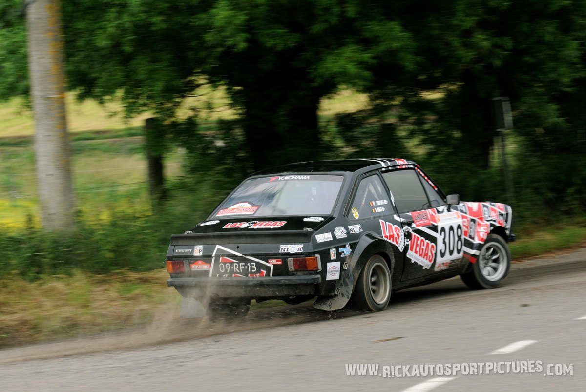 Bart Maes ypres ieper rally 2013