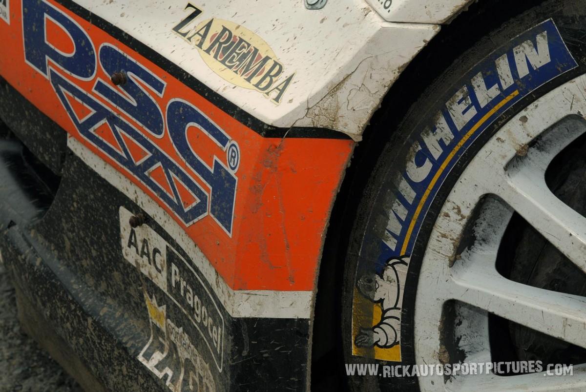 Antonin Tlustak Ypres Rally 2013