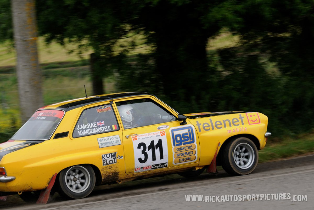 jimmy McRae ypres ieper rally 2013