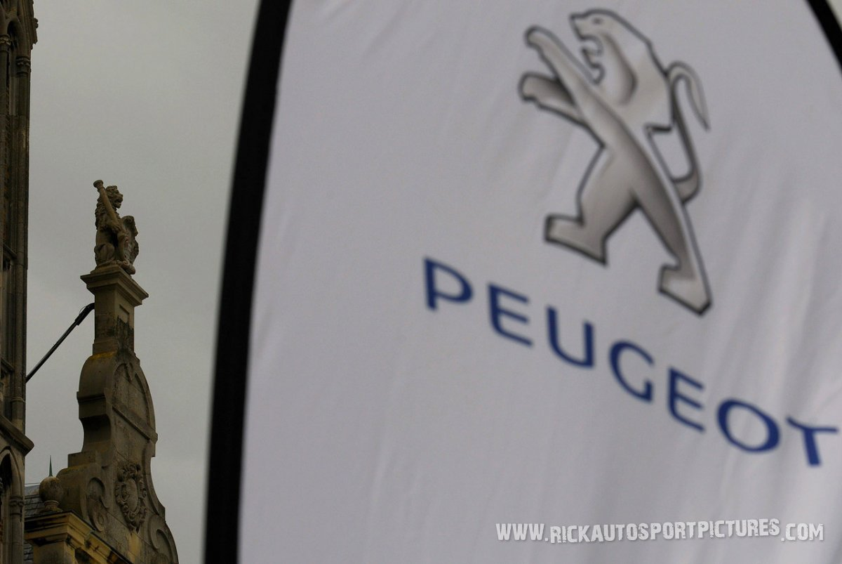 Peugeot ypres ieper rally 2013