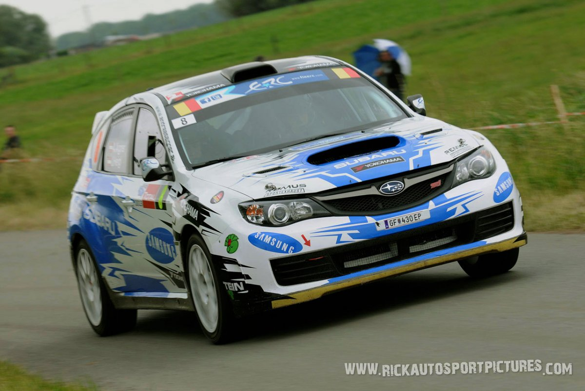 Andreas Aigner ypres ieper rally 2013