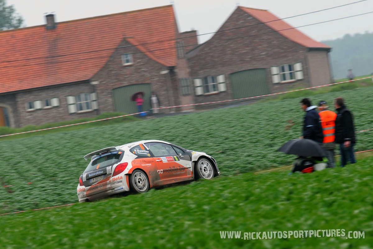 Bryan Bouffier Ypres Ieper Rally 2013