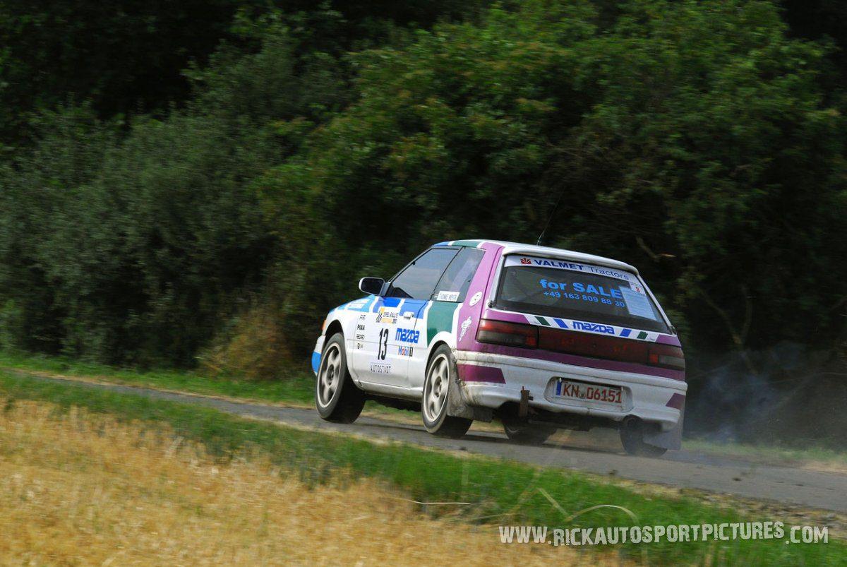 Legend Mazda 323 Eifel Rallye 2013