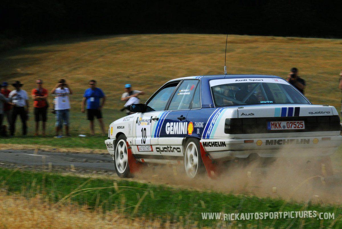 Legend Audi 200 Quattro Eifel Rallye 2013