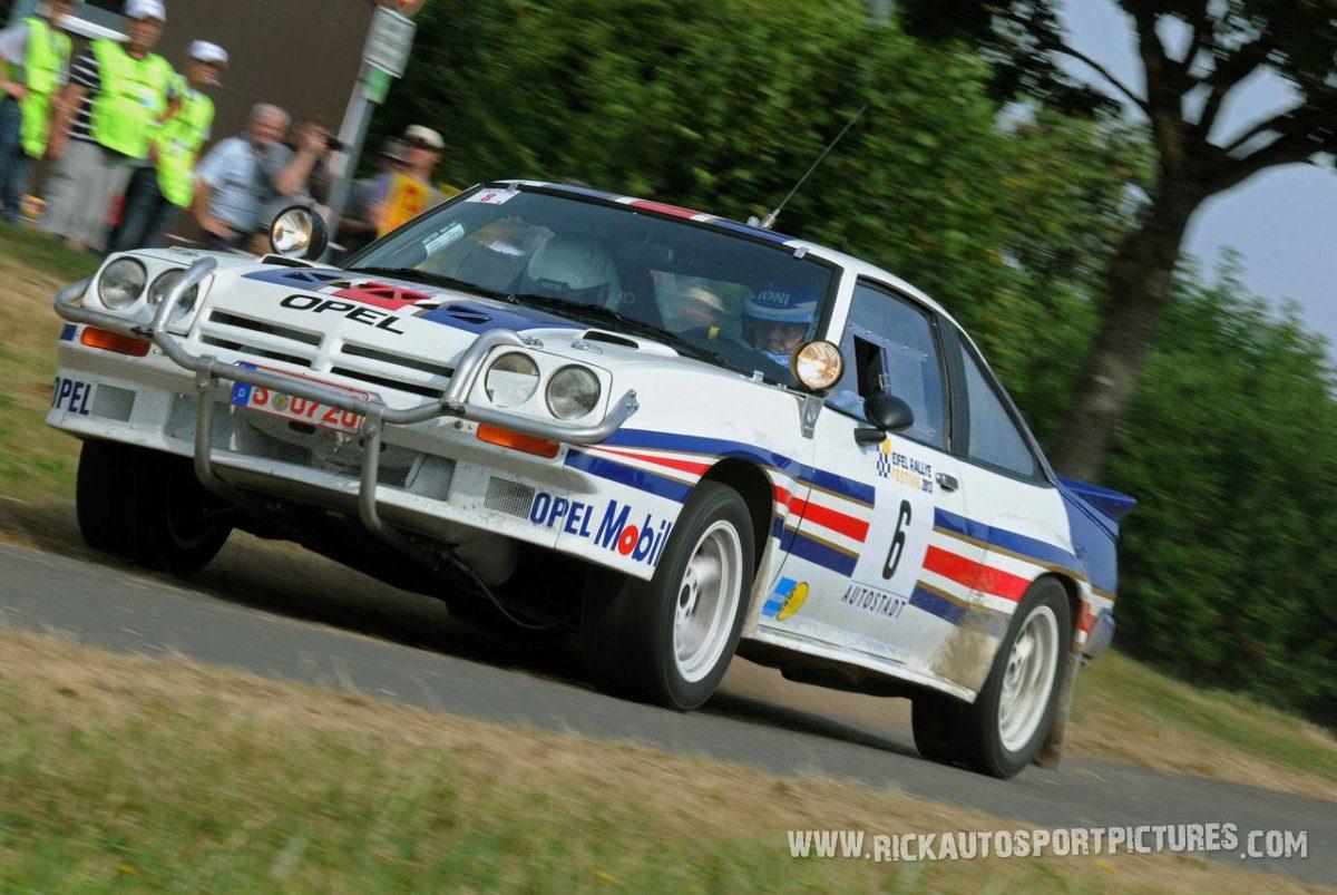 Legend Opel Manta 400 Eifel Rallye 2013