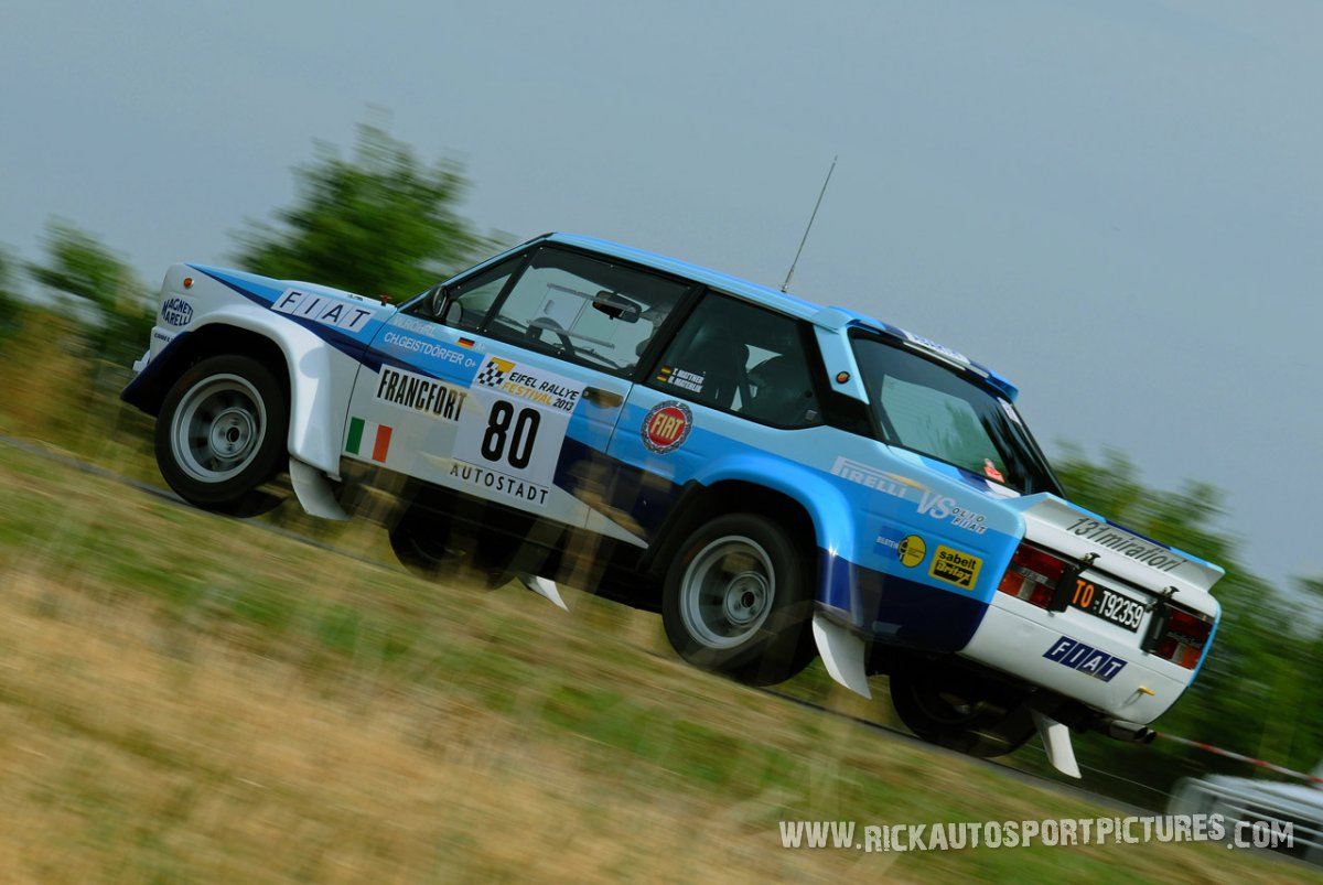 Legend Fiat Abarth Eifel Rallye 2013
