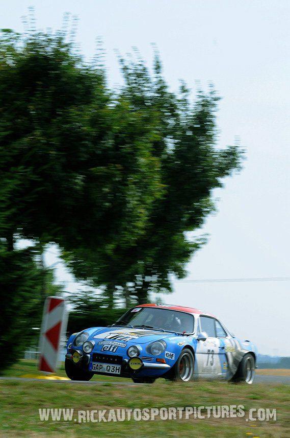 Legend Alpine A110 Eifel Rallye 2013