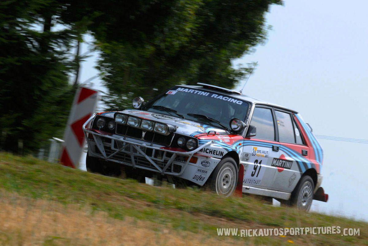 Legend Lancia Delta Integrale Eifel Rallye 2013
