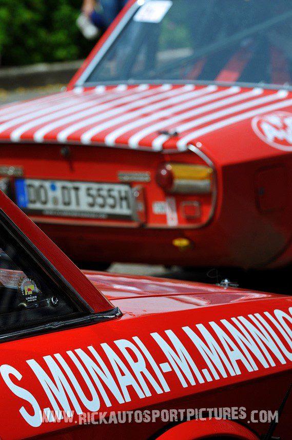 Legend Lancia Vulvia Eifel Rallye 2013