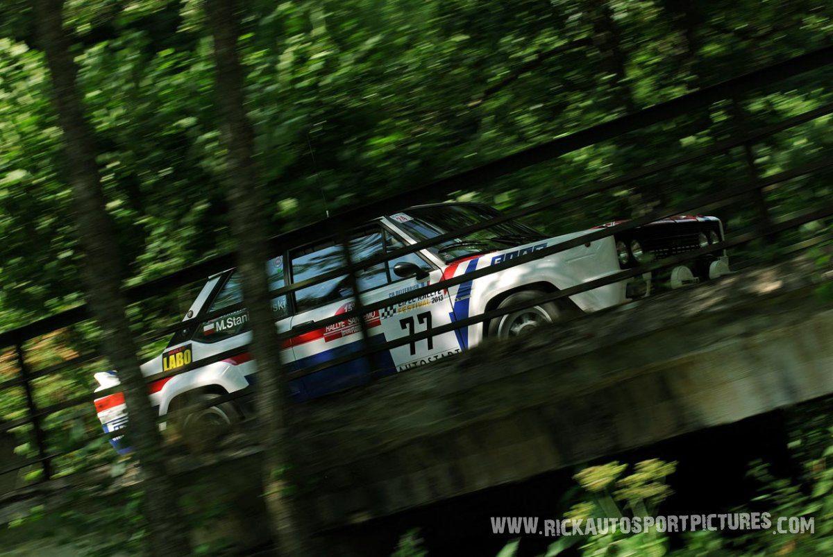 Legend Fiat 131 Eifel Rallye 2013
