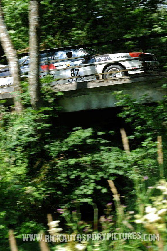 Legend Audi Quattro Eifel Rallye 2013