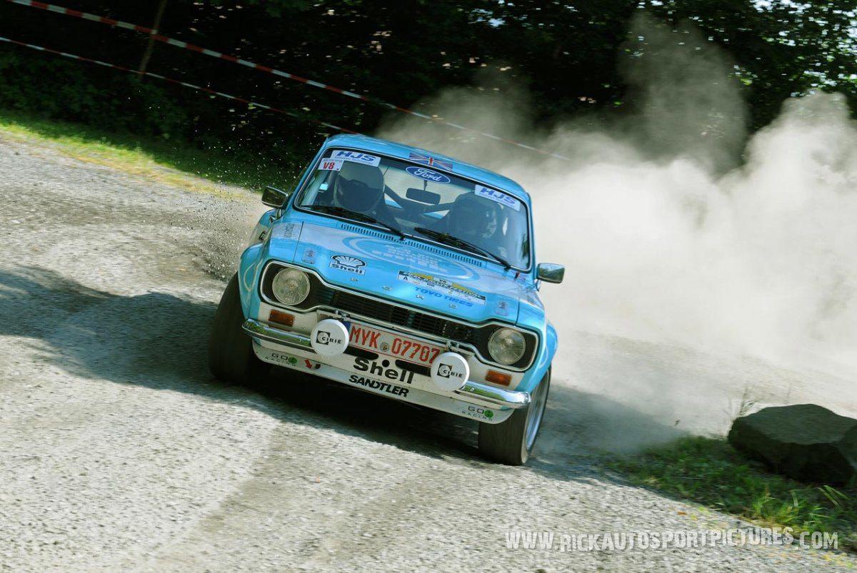 Legend Ford Escort MK II Eifel Rallye 2013