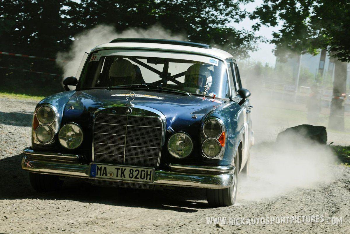 Legend Mercedes 300 Eifel Rallye 2013