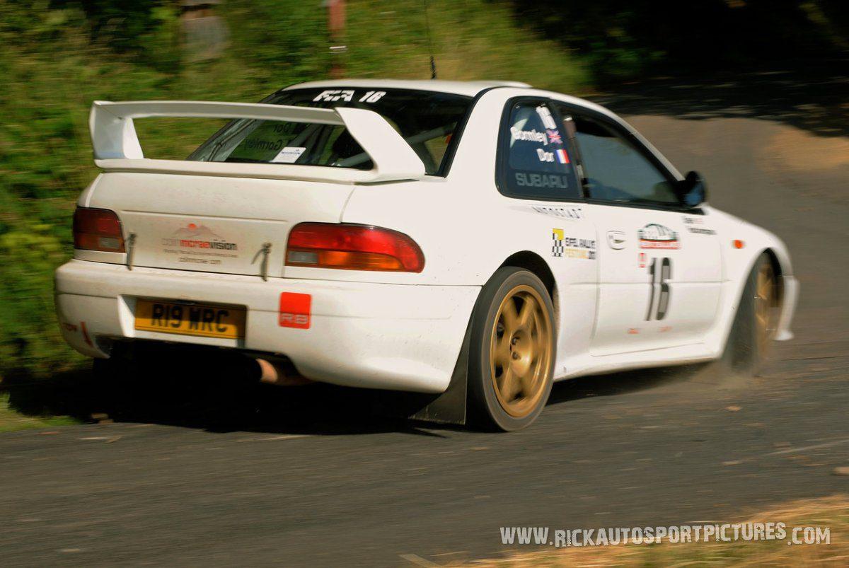 Legend Subaru Impreza WRC Eifel Rallye 2013