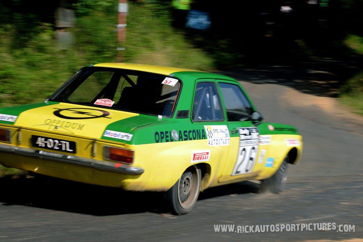 Legend Opel Ascona Eifel Rallye 2013