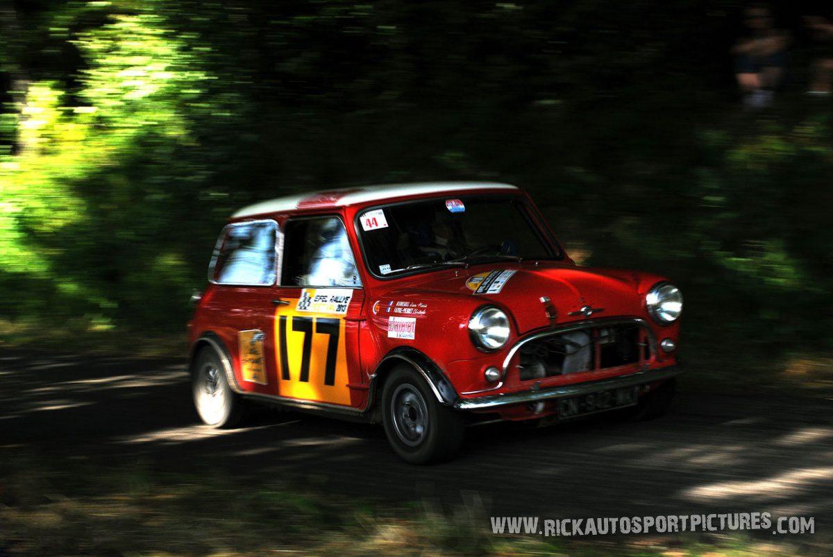Legend Mini Cooper S Eifel Rallye 2013