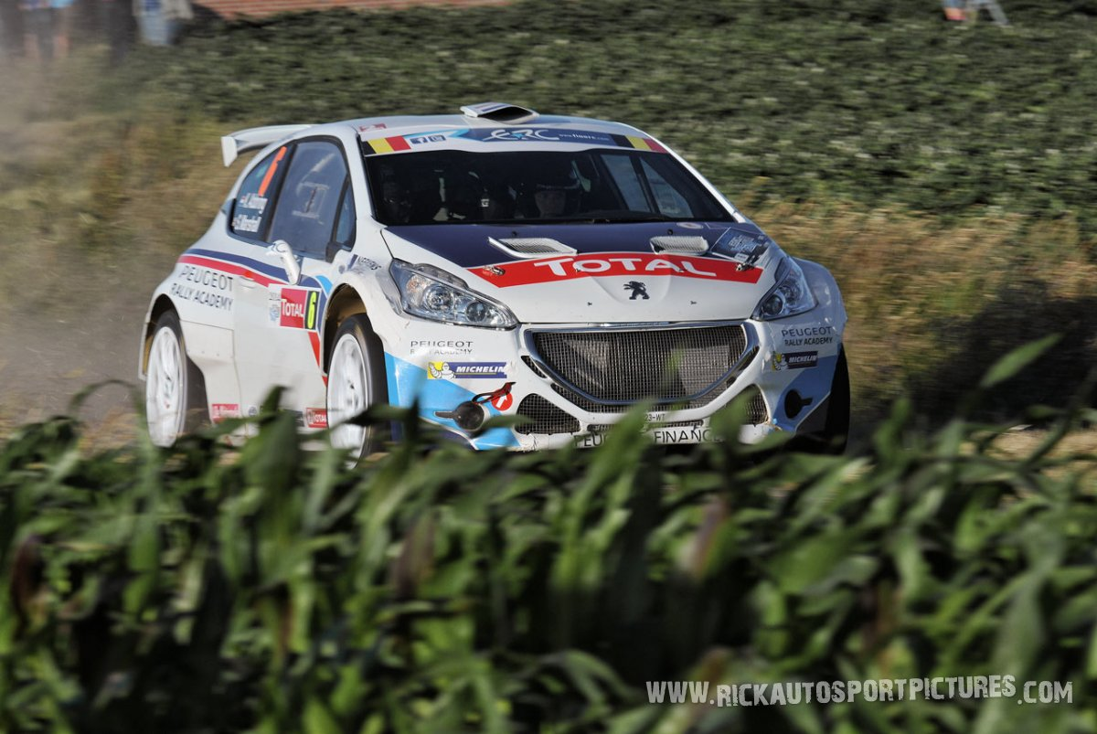 Kevin Abbring ypres ieper rally 2014
