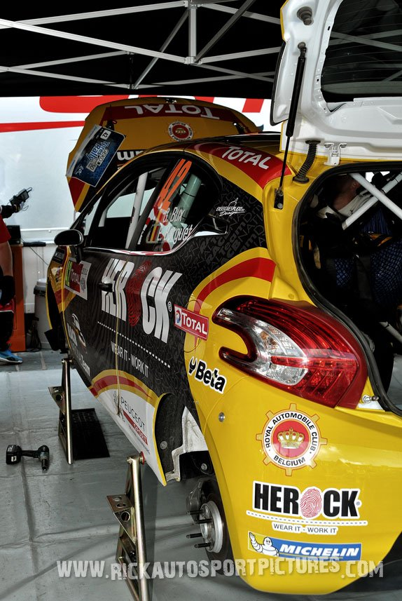 Gino Bux ypres ieper rally 2014