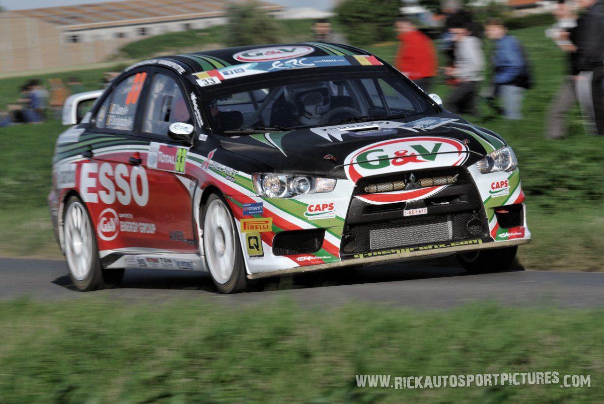 Bert Coene ypres ieper rally 2014