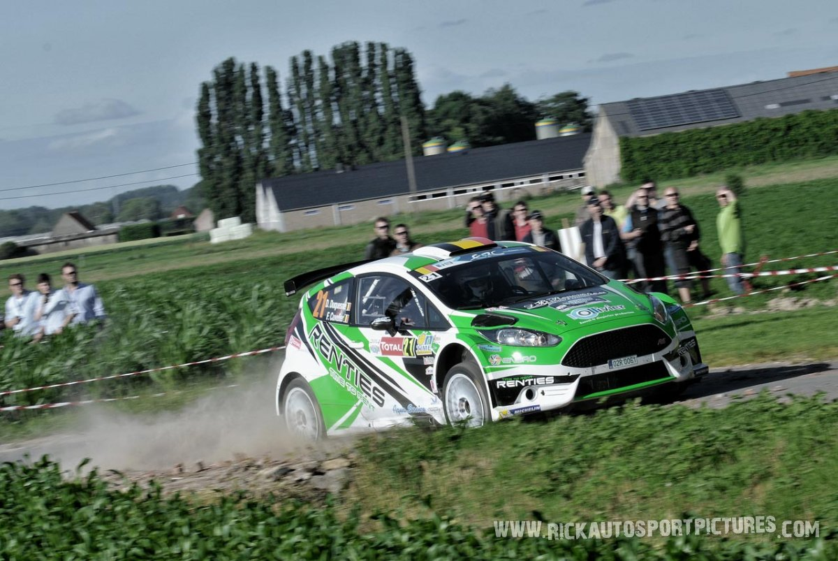 Didier Duquesne ypres ieper rally 2014