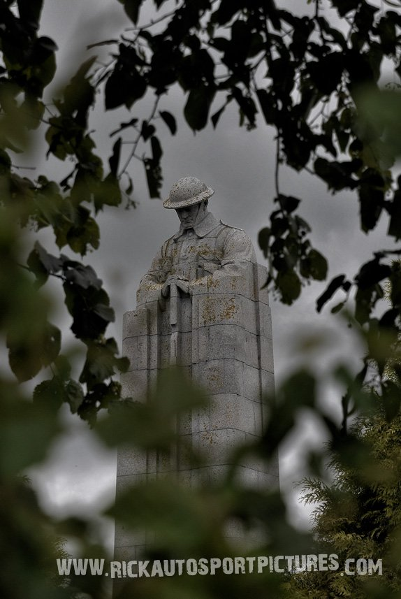 Brooding Soldier ypres rally 2014