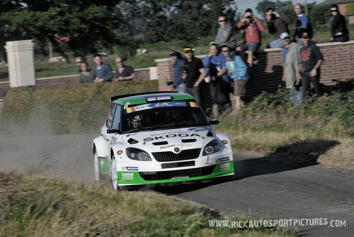 Esapekka Lappi ypres ieper rally 2014
