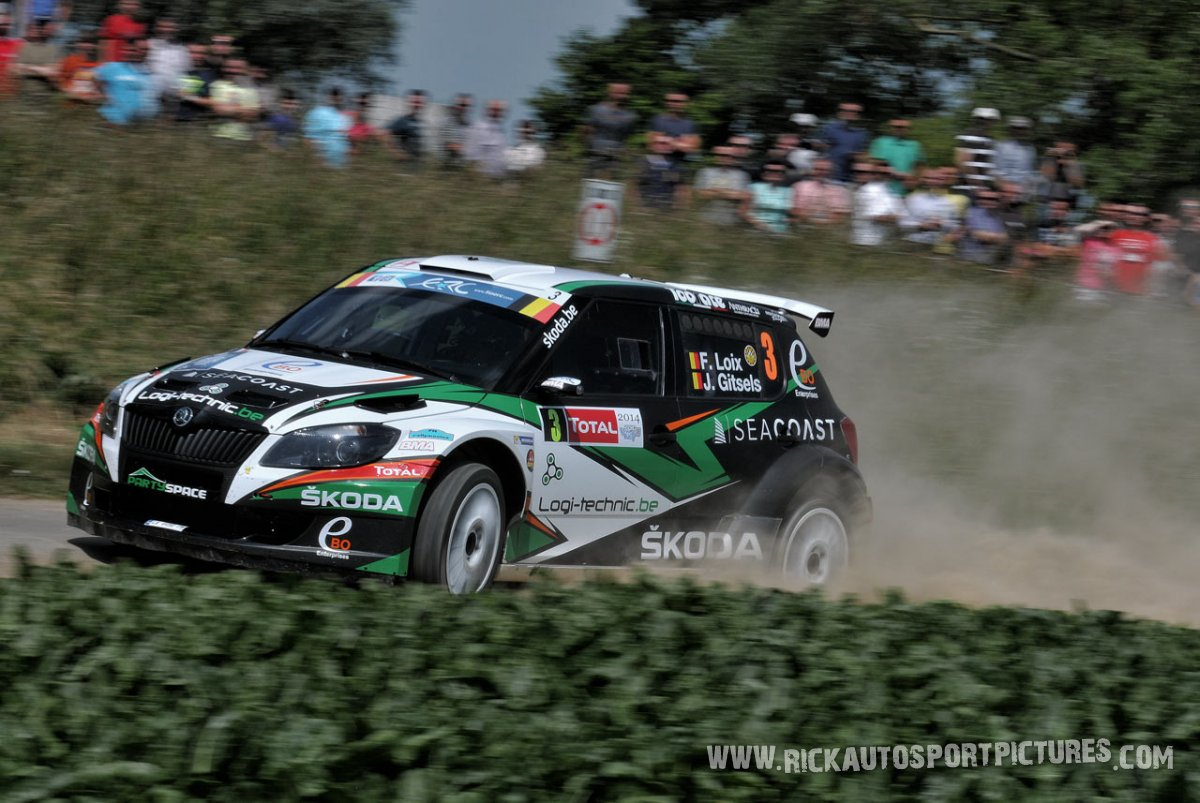 Freddy Loix Ypres Ieper Rally 2014