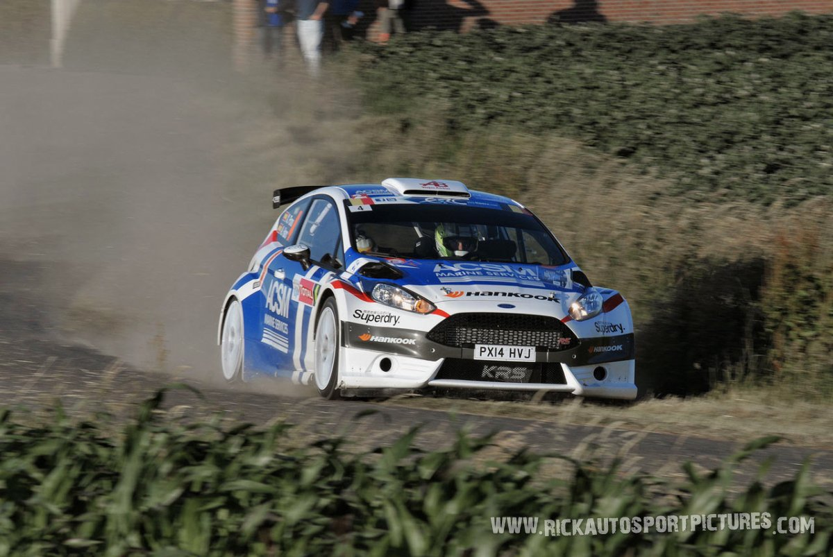 Xevi Pons ypres ieper rally 2014