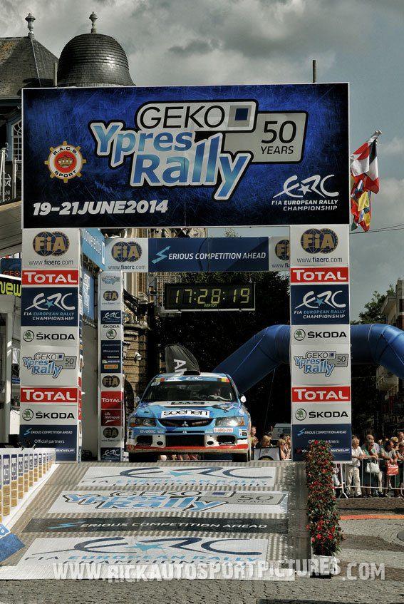 Filip Pyck ypres ieper rally 2013