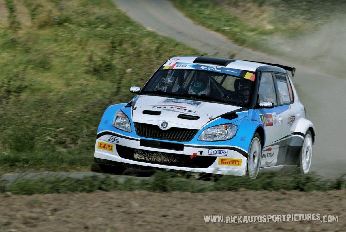 Luca Rosetti Ypres Ieper rally 2014