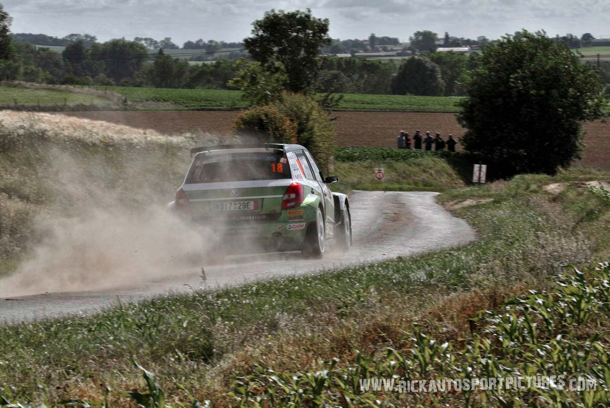 Neil Simpson ypres rally 2014