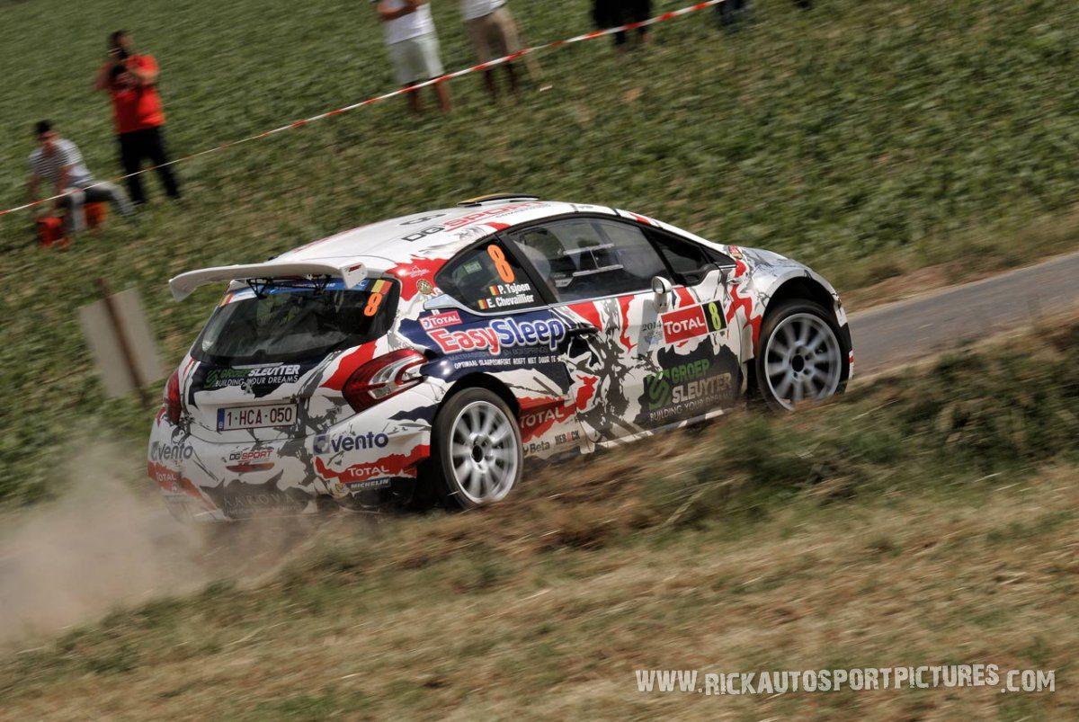 Pieter Tsjoen Ypres Ieper Rally 2014