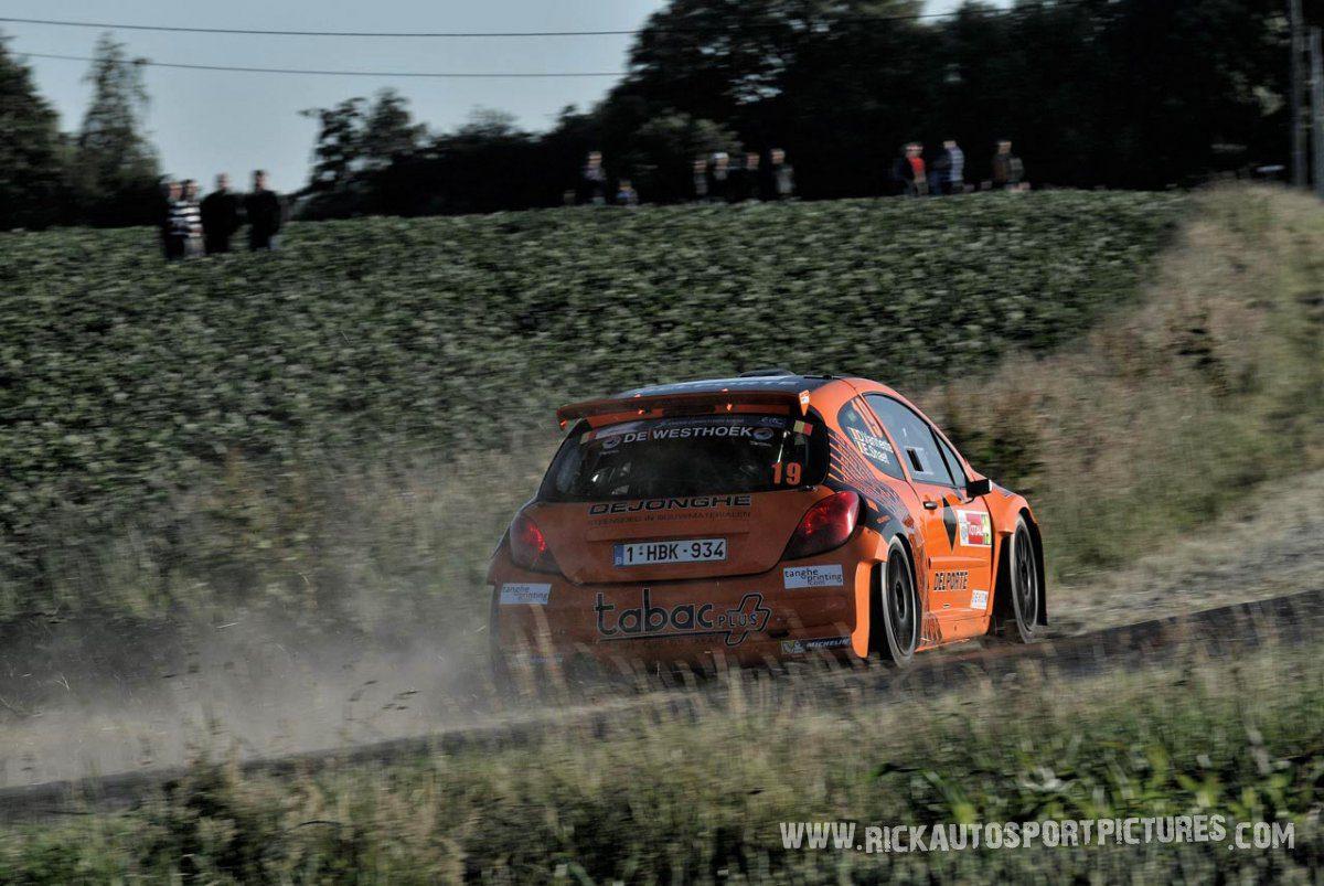 Davy Vanneste ypres ieper rally 2014