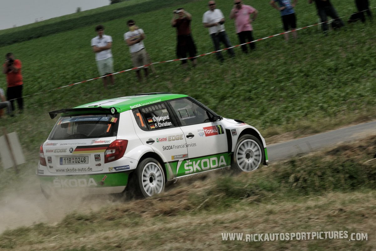Sepp Wiegand ypres ieper rally 2014
