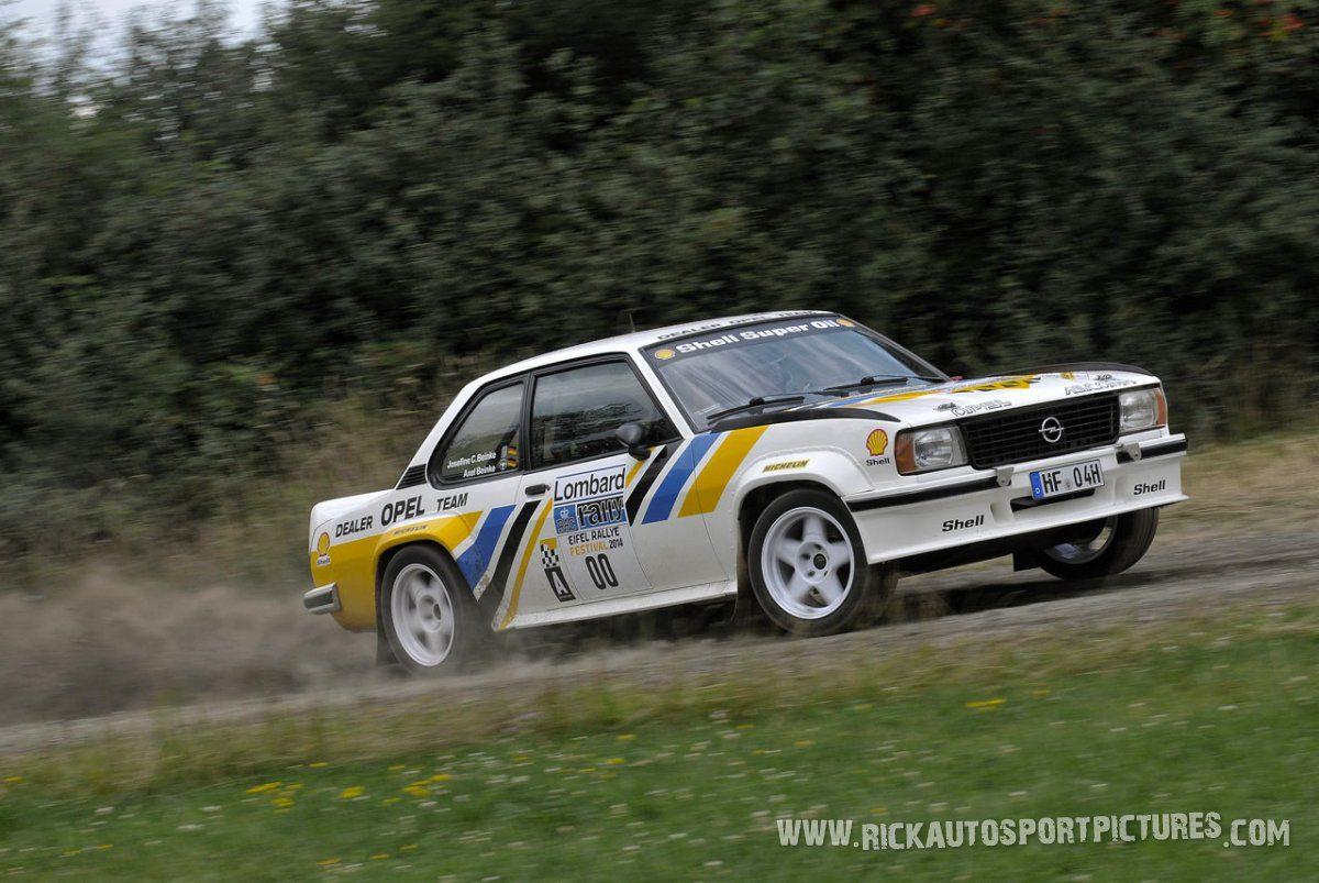 Legend Opel Ascona 400 Eifel Rallye 2014