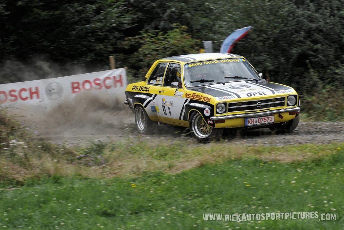 Legend Opel Ascona A Eifel Rallye 2014