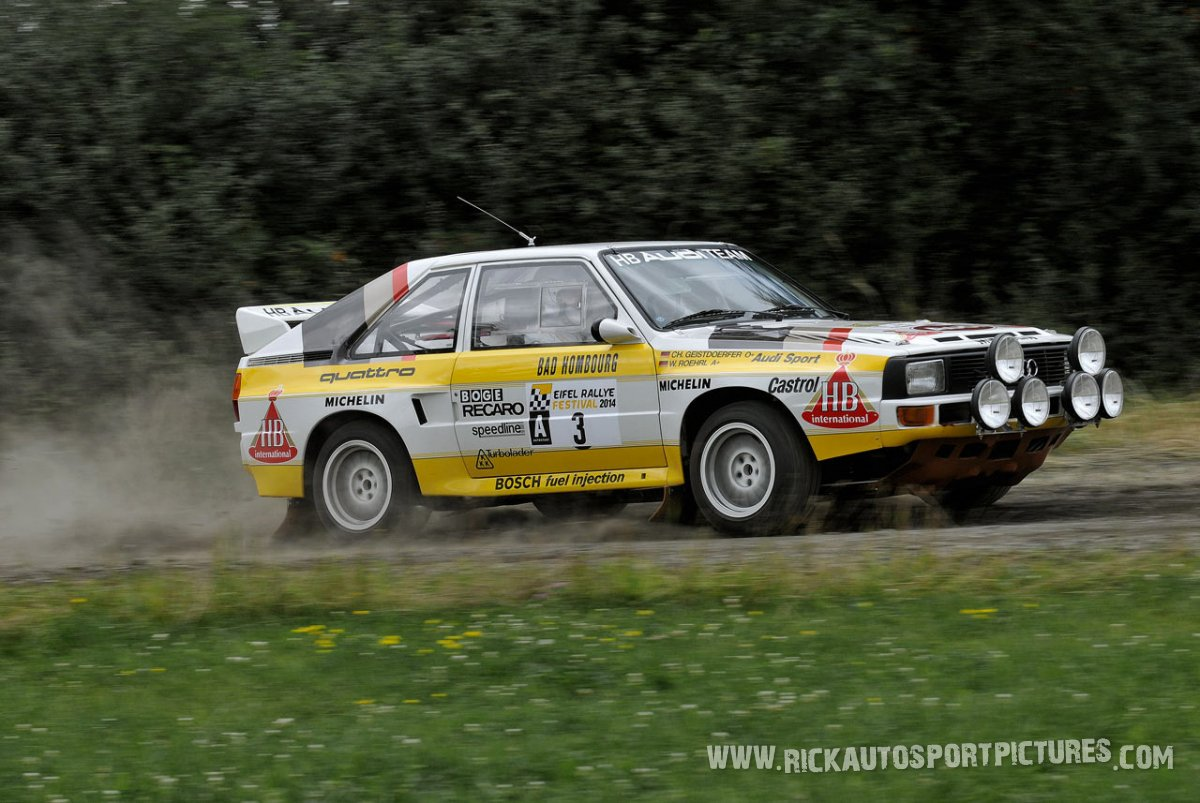 Legend Audi Sport Quattro Eifel Rallye 2014