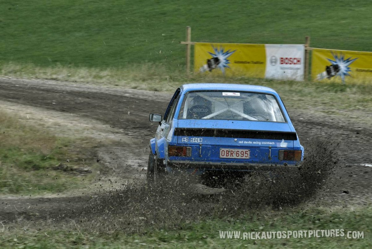 Legend Ford Escort MK II Eifel Rallye 2014