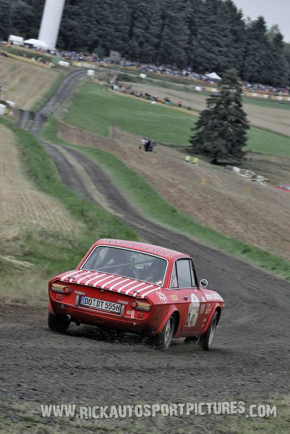 Legend Lancia Fulvia Eifel Rallye 2014