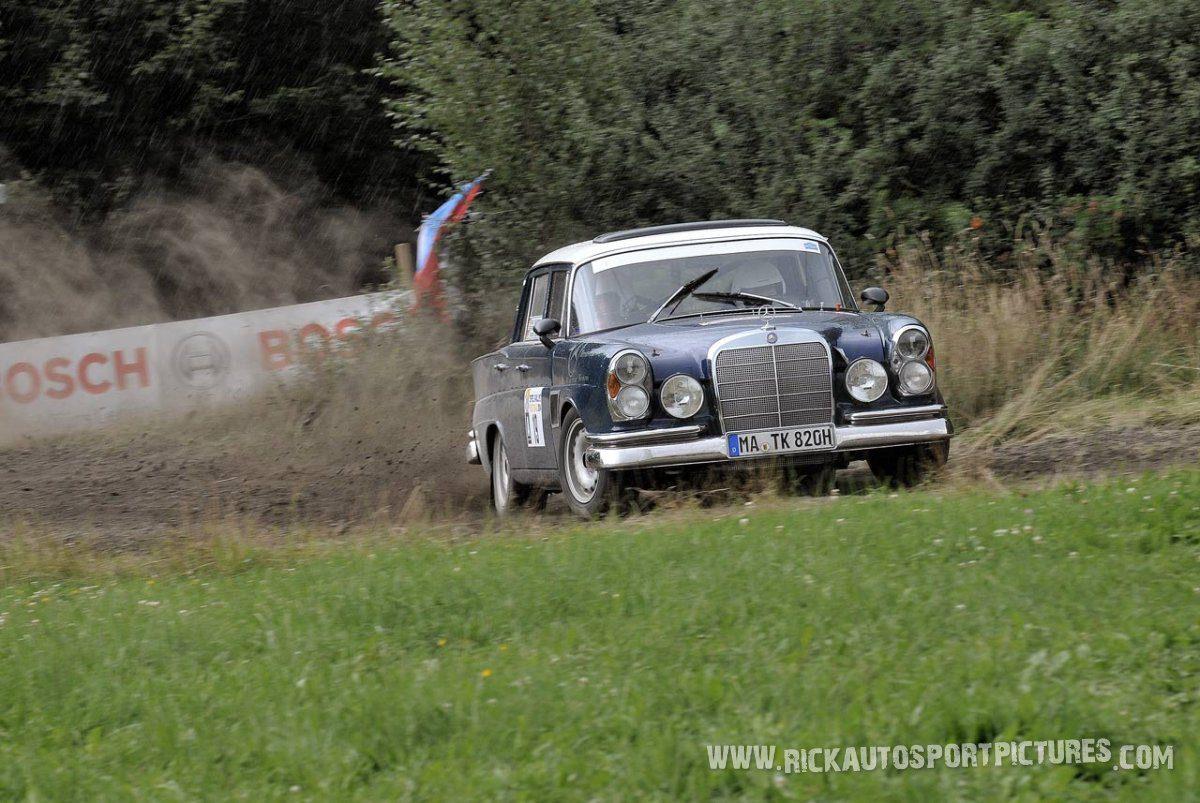 Legend Mercedes 300 Eifel Rallye 2014