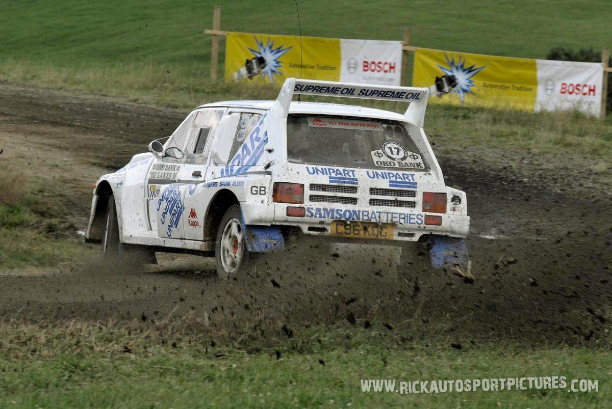 Legend MG Metro 6R4 Eifel Rallye 2014