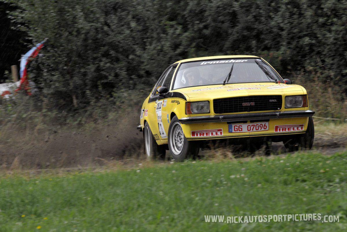 Legend Opel Commodore Eifel Rallye 2014